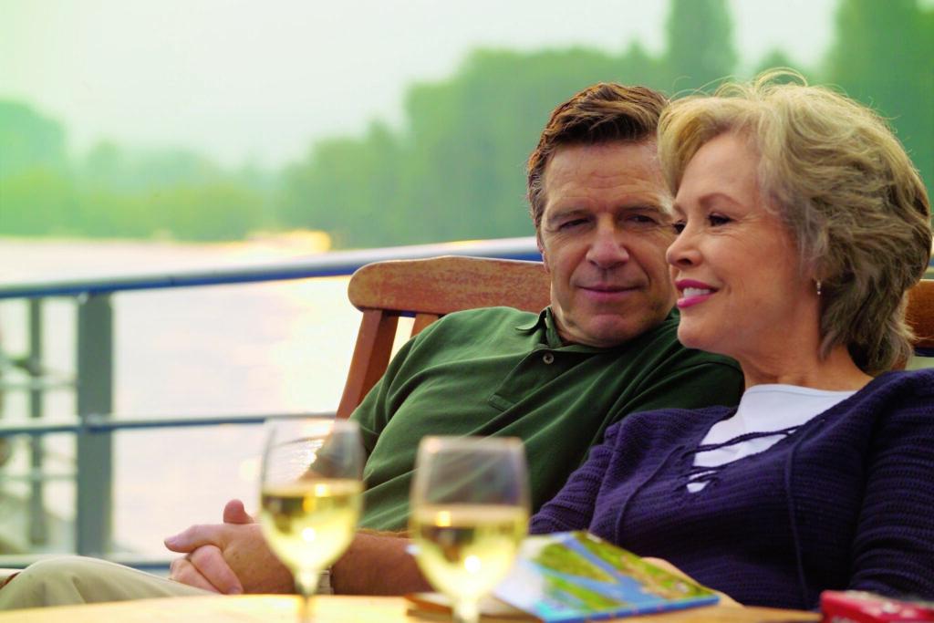 cruise, River cruise, couple,